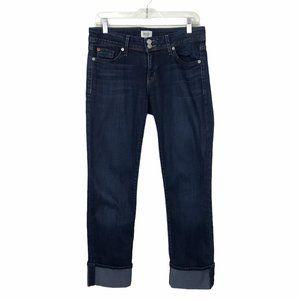 HUDSON Ginny Crop Straight Jeans 29 #72
